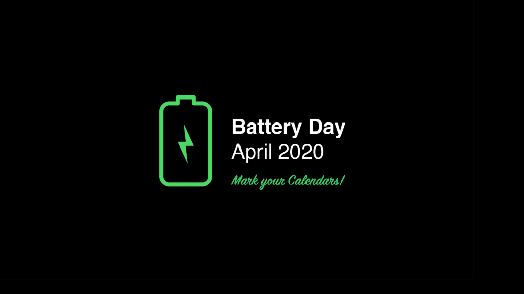 Tesla Battery Day [Date to be Announced] – Tesla Events ...